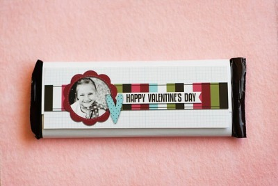 Customizable Candy Bar Wrappers for Valentine's Day!  ~  eighteen25: Custom Candy Bar Wrappers