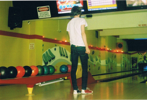 simplymafalda:  Bowling is so fun! <3  yeah it was! :D
