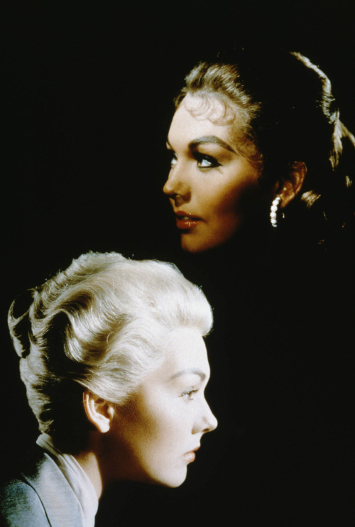 Kim Novak in publicity still for Vertigo (Alfred Hitchcock, 1958) Via Verdoux