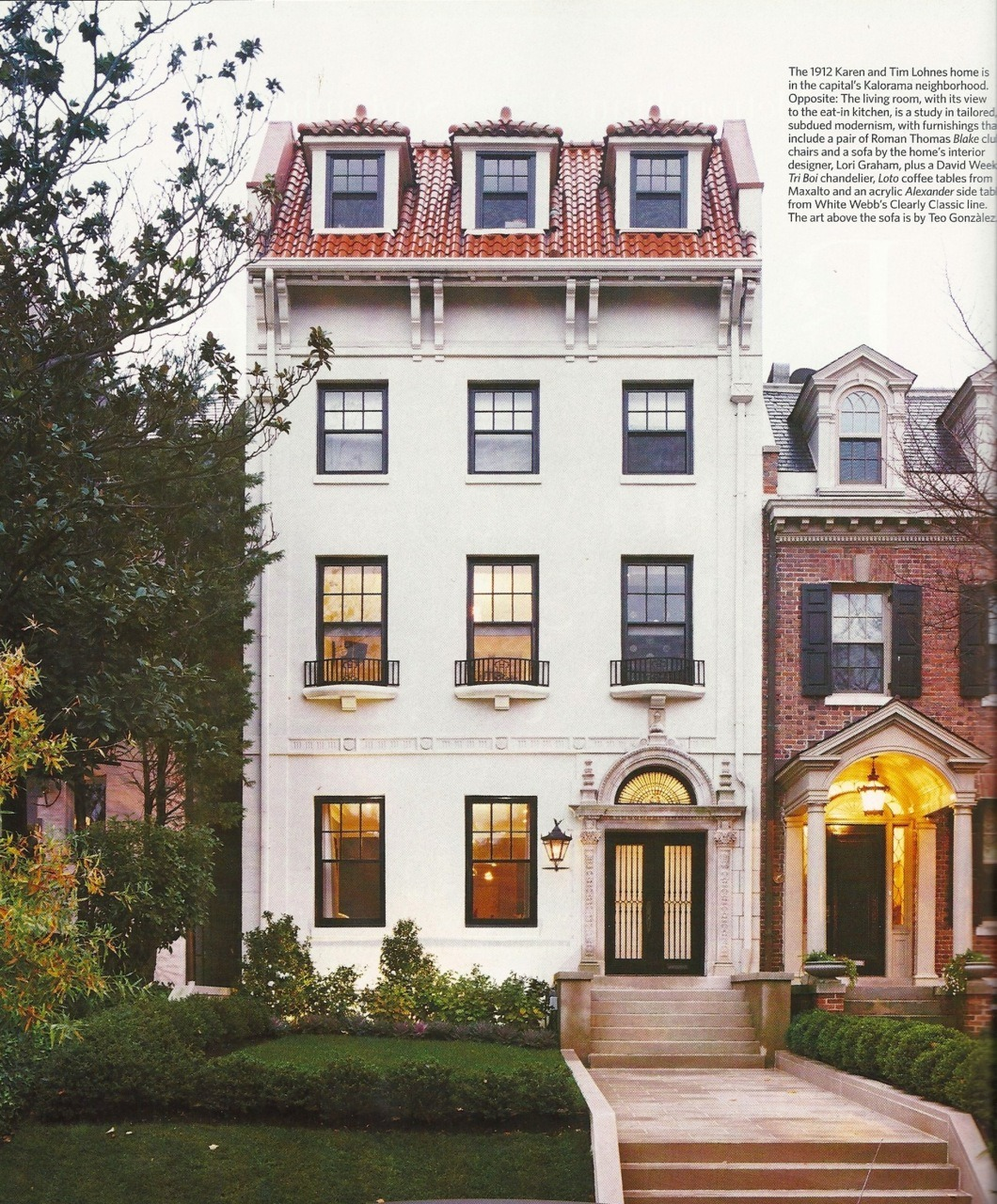 ysvoice:  | ♕ |  Metropolitan Home, Sept 2009  |  via pinkpersimmon