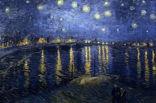 whenyouwishuponastar:  Starry Night Over the Rhone by Vincent van Gogh