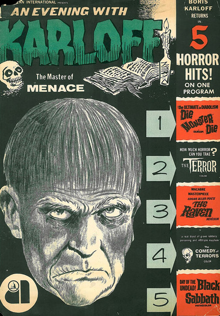 An Evening With Karloff - The Master Of Menace
