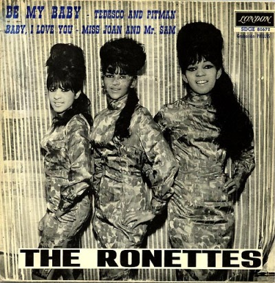 Poster: The Ronettes - Be My Baby