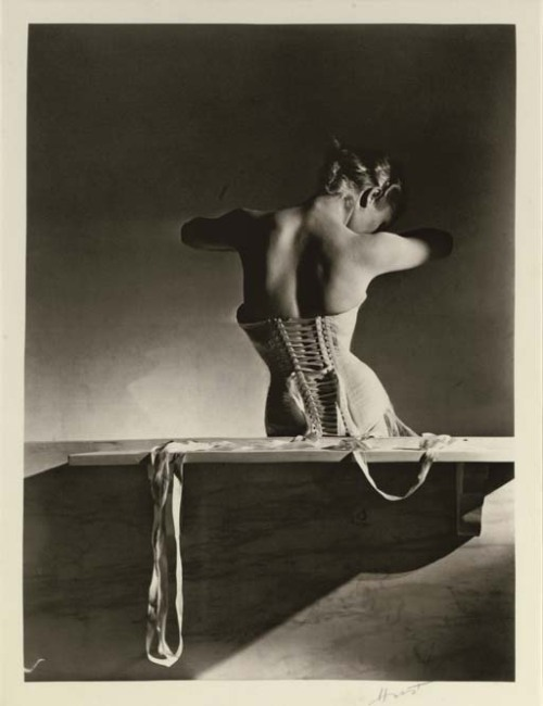 Mainbocher Corset, Paris, 1939 by Horst P. Horst * [also in b+w from liquidnight]