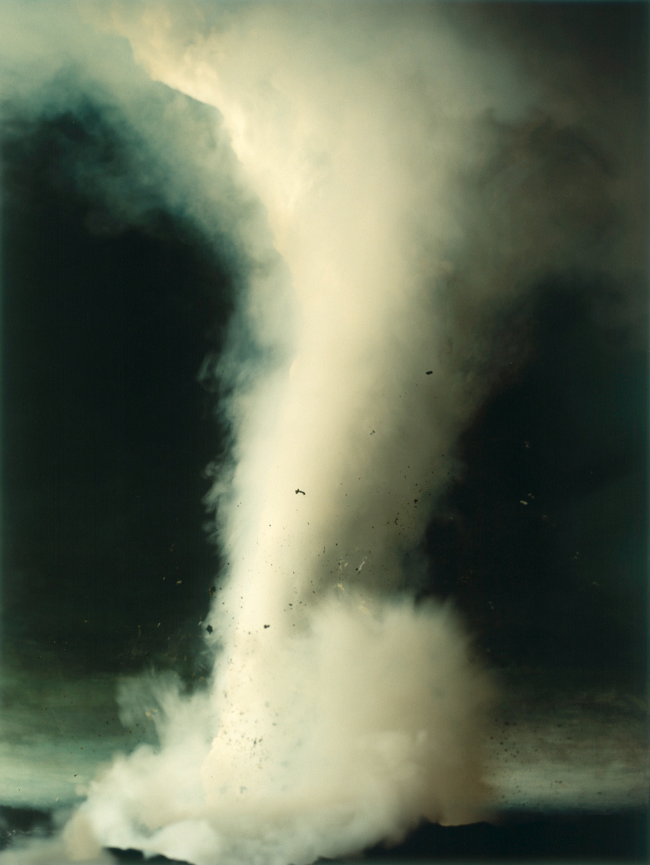 Sonja Braas, Tornado. From The Quiet of Dissolution series, 2005. Thank you, melisaki.