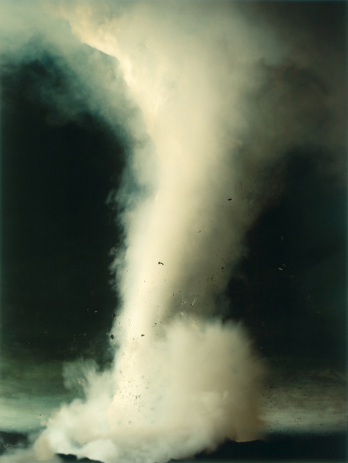 melisaki:  Tornado photo by Sonja Braas, The Quiet of Dissolution series, 2005