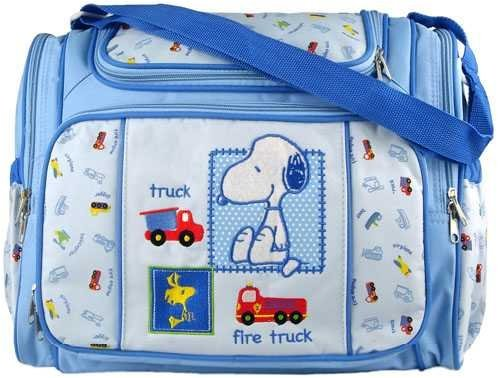 These are the baby products I already own!  The Snoopy Diaper bag isnt the exact one in the picture but it's very similar to the one I have. If you wear medium/small sized diapers and clothing (for ABs) you can fit up to 3-4 diapers along with 3-4 outfits inside the bag along with 2 bottles, socks and pacifiers lying around wherever you want lol. The sides hold my Baby powder, Baby perfume and my Stuffed white Labrador puppy.  The back comes complete with a Wipes Case and a Changing Pad! I keep all these baby things inside that bag along with one of each of my favorite diapers to wear :)