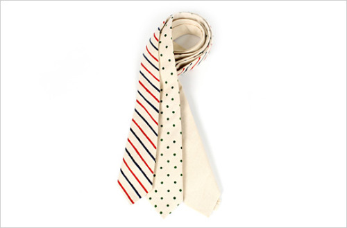 Hand-painted neck ties from Partner & Spades