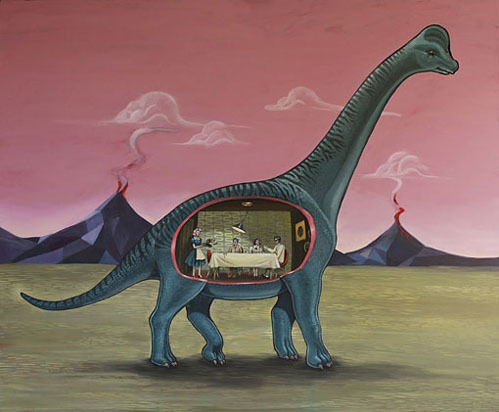 nevver: Home Sweet Brachiosaurus by Shyama Golden