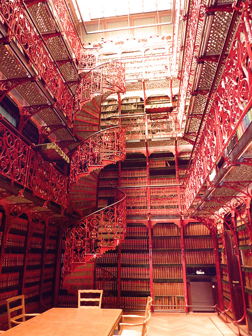 sunsurfer:  The Old Library, The Hague, Netherlands  photo via fadingrose