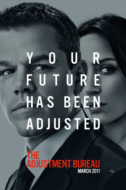 New Outdoor Banner For 'The Adjustment Bureau' | LatinoReview A little The Social Network a little novel-y but still pretty cool.