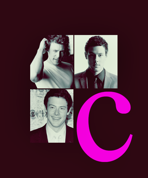A-Z YOU ME BED NOW | c | Cory Monteith