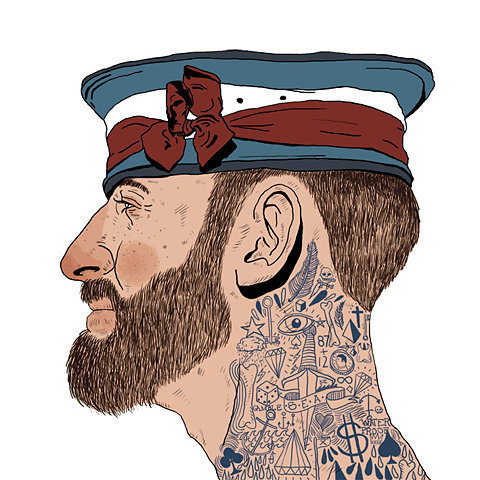 illustrator? nice tats.