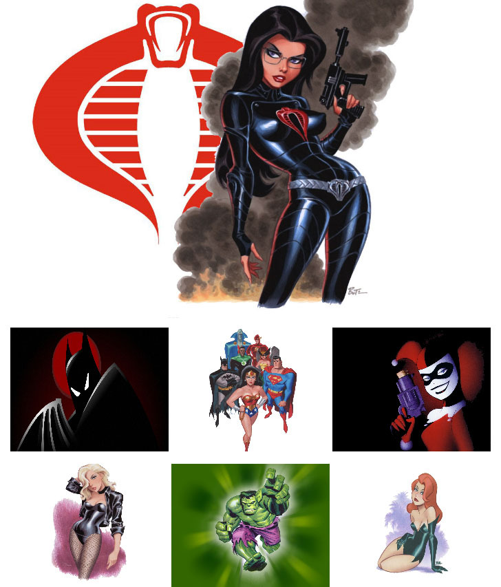 capncarrot:  Wallpaper Wednesday (Bruce Timm edition)