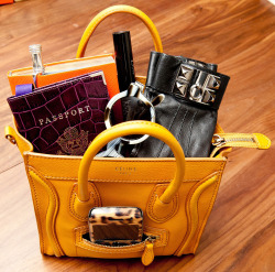 New York Fashion Week Essentials - see what's in everyone's bag!   from VOGUE.com