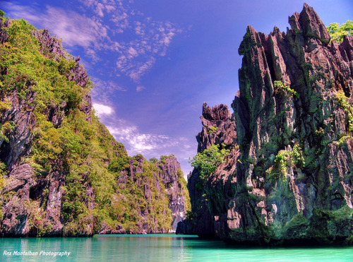 pinoytumblr:  Limestone Cliffs — Palawan Palawan is the Philippines' Last Frontier. It is home to 40% of the country's remaining mangrove areas, 30% of the country's coral reefs, 17 key biodiversity areas, 2 UNESCO World Heritage Sites and 8 declared protected areas, and the country's last remaining stretch of old-growth forests. It also has a wide variety of flora and fauna species. Palawan has been designated as a Man and Biosphere Reserve by the United Nations, yet it has been sold out to mining corporations.  Environmentalist and anti-mining activist, Dr. Gerry Ortega was shot dead last January 24, 2011 due to his fight against the expansion of mining activities in Palawan which causes landslides and floods, threatening the lives of many people in Palawan. He fought that mining was not the solution to poverty in Palawan, since it is a short-lived source of income that kills the environment and its costs outweigh the benefits. The best solution was through eco-tourism, preserving the environment and providing long-term jobs for many people in Palawan. If we destroy Palawan, we don't just destroy its resources and heritage, we destroy one of the country's last remaining treasures. Doc Gerry is dead, but let his dream live on by signing the NO TO MINING IN PALAWAN PETITION. Filipino or not, please reblog, sign the petition, and help the country! (via vivafilipinas, img by Rex Montalban)