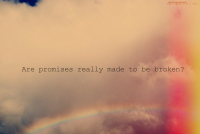 Day 270: Promises (by Cerisse ★)