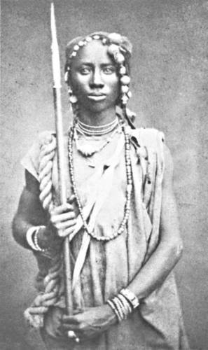 "The Dahomey Amazons The Dahomey Amazons were a Fon all-female military regiment of the Kingdom of Dahomey. They were so named by Western observers and historians due to their similarity to the legendary Amazons described by the Ancient Greeks. King Houegbadja (who ruled from 1645 to 1685), the third King of Dahomey, is said to have originally started the group which would become the Amazons as a corps of elephant hunters called the gbeto. During the 18th century, the king had some of his wives trained as royal bodyguards.  Houegbadja's son King Agadja (ruling from 1708 to 1732) developed the female bodyguard into a militia and successfully used them in Dahomey's defeat of the neighbouring kingdom of Savi in 1727. European merchants recorded their presence, as well as similar female warriors amongst the Ashanti. For the next hundred years or so, they gained reputation as fearless warriors. Though they fought rarely, they usually acquitted themselves well in battle. The group of female warriors was referred to as Mino, meaning ""Our Mothers"" in the Fon language by the male army of Dahomey. From the time of King Ghezo (ruling from 1818 to 1858), Dahomey became increasingly militaristic. Ghezo placed great importance on the army and increased its budget and formalized its structures. The Mino were rigorously trained, given uniforms, and equipped with Danish guns (obtained via the slave trade). By this time the Mino consisted of between 4000 and 6000 women, about a third of the entire Dahomey army. The Mino were recruited from among the ahosi (""king's wives"") of which there were often hundreds. Some women in Fon society became ahosi voluntarily, while others were involuntarily enrolled if their husbands or fathers complained to the King about their behaviour. Membership among the Mino was supposed to hone any aggressive character traits for the purpose of war. During their membership they were not allowed to have children or be part of married life. Many of them were virgins. The regiment had a semi-sacred status, which was intertwined with the Fon belief in Vodun. The Mino trained with intense physical exercise. Discipline was emphasised. In the latter period, they were armed with Winchester rifles, clubs and knives. Units were under female command. Captives who fell into the hands of the Amazons were often decapitated. Conflict with France European encroachment into west Africa gained pace during the latter half of the 19th century, and in 1890 King Behanzin started fighting French forces in the course of the First Franco-Dahomean War. According to Holmes, many of the French soldiers fighting in Dahomey hesitated before shooting or bayoneting the Mino. The resulting delay led to many of the French casualties. Ultimately, bolstered by the Foreign Legion, and armed with superior weaponry, including machine guns, the French inflicted casualties that were ten times worse on the Dahomey side. After several battles, the French prevailed. The Legionnaires later wrote about the ""incredible courage and audacity"" of the Amazons. The last surviving Amazon of Dahomey died in 1979."