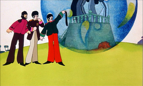 "johnlennonandcupcakes:  ""Hey, I've got a hole in me pocket"" -Yellow Submarine"