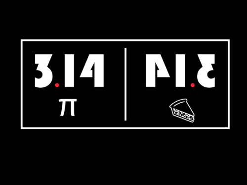 Just over a month away: Pie Day. Er, I mean, Pi Day.
