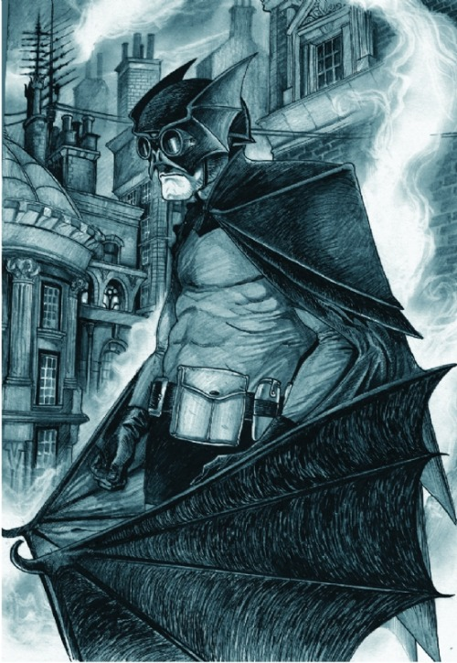 Victorian Batman - David Hitchcock