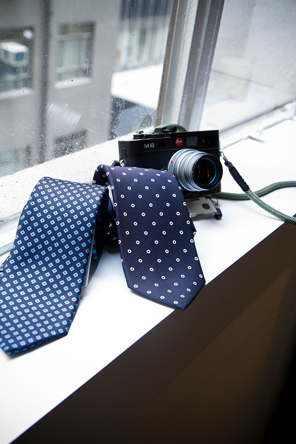Drakes ties and someone's fancy camera (not mine)