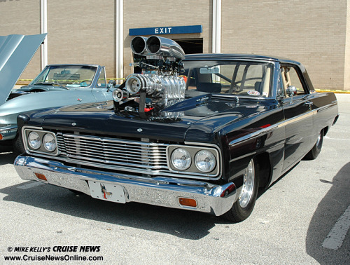 Blown 65 Ford Fairlane