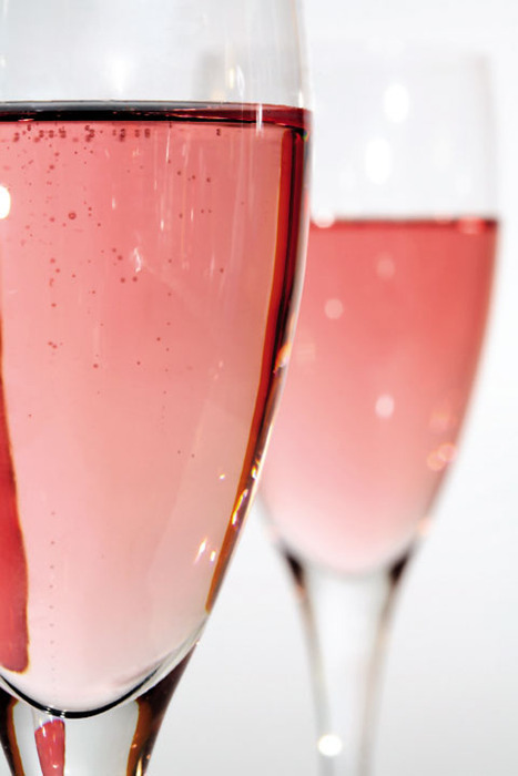 pink champagne…so An Affair to Remember…