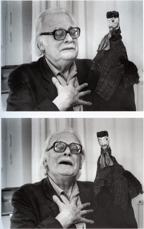 Paul Klee and his puppet