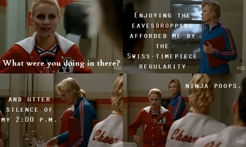 02x11 The Sue Sylvester Shuffle ahaha I wish I was that healthy.