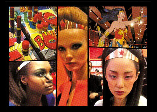 MAC X WONDER WOMAN Mac's latest super powered collection ready to hit the market this MARCH 2011!!!