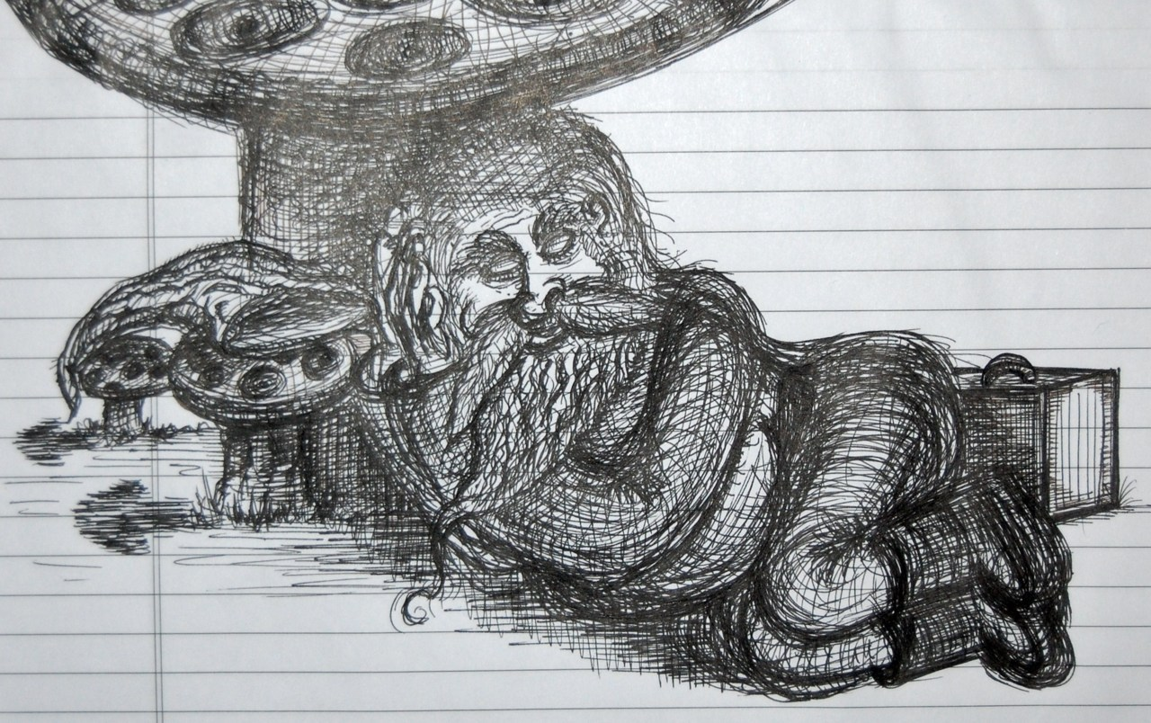 55/365 Days of Gnome Gnapping Gnome Drawing during meetings is the only way I can make it through them.