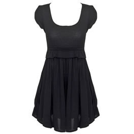 Antipodium Black Heavy Petal Tee Sun Dress - review, compare prices, buy online