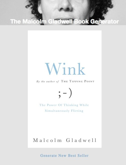 Malcolm Gladwell continues his tirade against the internet. The internet responds in the expected manner: mocking him. I believe that the first time he wrote against social media, he was earnestly convinced of his ideas. Now, it seems to have become his shtick. I guess that's what free publicity does to people's convictions.
