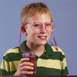 Silly Straw Glasses - best invention for kids yet!