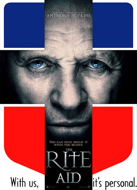 The Rite Aid = Anthony Hopkins + Drugstore Chain