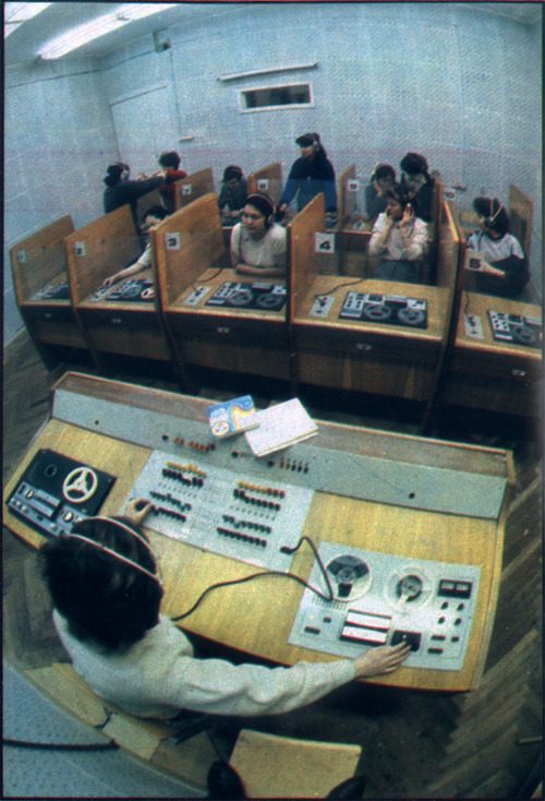 Language class. ОГОНЁК, MAЙ 1988. the most oldschool dj ever