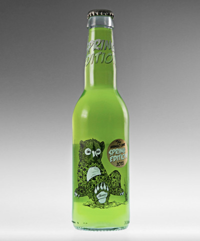 Swedish Mango Lime Cider… i vant. Packaging by Division. (source: notcot)