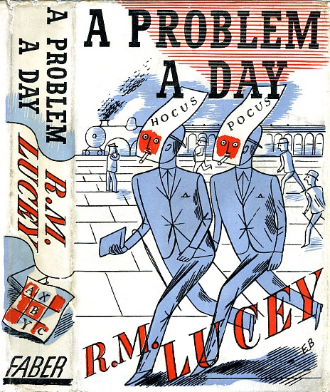 Edward Bawden book jacket design/illustration. More on my blog HERE.