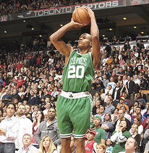 Ray Allen : 3 Point King 2561 (and counting) Career 3 Point Field Goals