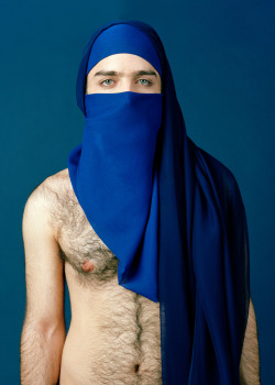Untitled, Modesty From the series On Beauty© Sophia Wallace 2010