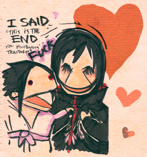 kinpiluche:  I just drew this. Sasuke is a very honest brother. its nice to be honest. i like that.