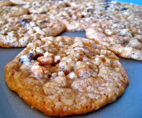 This weekend: perfecting the chocolate-butterscotch oatmeal cookie. Have any tips?