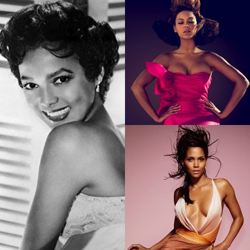 hyhx:  fuckyeahfamousblackgirls:    Beyonce, Halle Berry and the late Dorothy Dandridge made the 2011 list of L.A. Times Magazine's 50 Most Beautiful Women on Film. Out of 50 women they picked only 3 of the actresses were African-American: Beyonce at #25, Dorothy was at #12 and Halle at #5. Apparently Angela Bassett, Whoopi Goldberg, Queen Latifah, Jada Pinkett-Smith, Nia Long, Regina King, Kerry Washington, Phyllis Yvonne Stickney, Cree Summer, Naomie Harris, CCH Pounder, Sophie Okenedo, Phylicia Rashad,  Kimberly Elise, Theresa Randle, Thandie Newton, Raven-Symone, Gabrielle Union, Sanaa Lathan etc were too ugly to make the cut. I've tried to figure out what criteria was used to pick these actresses. If it's body of work then as much as I love Bey and stan for her there are other actresses who have a stronger body of work that she does. Did they decide to just pick the skinniest, most light skinned women? Well Sophie Okenedo fits the bill so maybe they were only picking Americans? Well Salma  Hayek isn't one and she made the cut. I really don't get what criteria was used! Mind you they did say they were biased so… Anyway who do you think should have made the list? Read more and credit this site: Beyonce, Halle Berry & Dorothy Dandridge Named L.A. Times' Most Beautiful Women In Film » iLuLuOnline http://iluluonline.com/beyonce-halle-berry-dorothy-dandridge-named-l-a-times-most-beautiful-women-in-film/#ixzz1DcWzkqpE   They all should have but for sure Keri Washington.