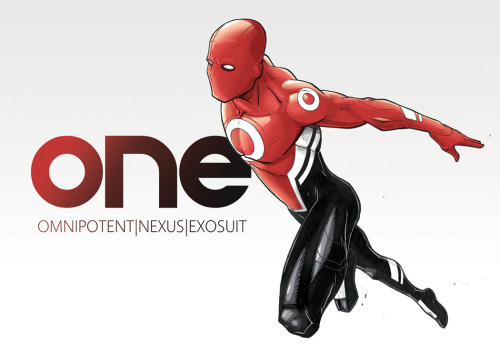 "Check out and vote for Adam Limbert's excellent ""ONE"" concept. It is part of the Stan Lee Foundation's ""Create a Superhero"" contest! (High Res) ONE by Adam Limbert (deviantART) (Facebook) (Twitter) Via: herochan"