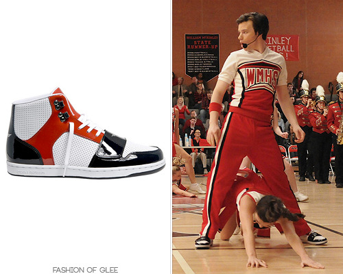 fashionofglee:  Thanks itskielbitch!' Creative Recreation Cesario Sneaker - $80.99 (black) Also worn in: 1x16 'Home', 1x17 'Bad Reputation', 1x22 'Journey' 2x18 'Born This Way' with Urban Outfitters hat, Urban Outfitters tank top 3x06 'Mash Off' with American Apparel headband