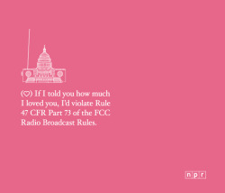 nerdvalentine:  NPR has a collection of printable Valentine's Day cards available here. (Thanks @paulschreiber)