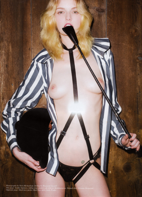 #NSFW - Lydia Hearst photographed by Terry Richardson for Self Service Magazine, Spring/Summer 2008 (via pussylequeer: exponentialtitillations)