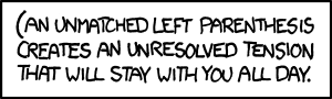 Haha…. I've been in this situation…. fuckyeahcomputerscience:  xkcd: (