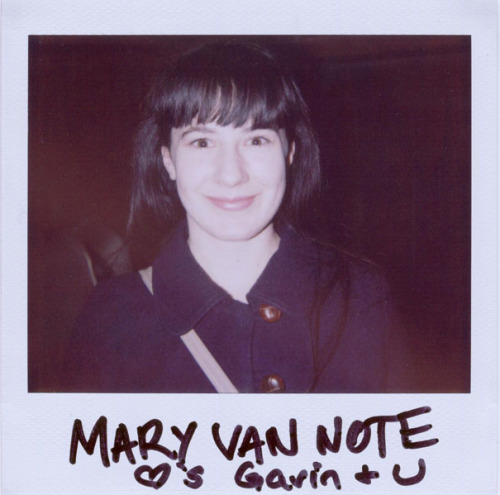 portroids:  Mary Van Note - Because I like her style.